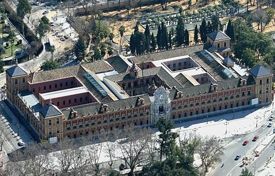 Sevilla, Palacio San Telmo, Sede de la Junta de Andalucía.