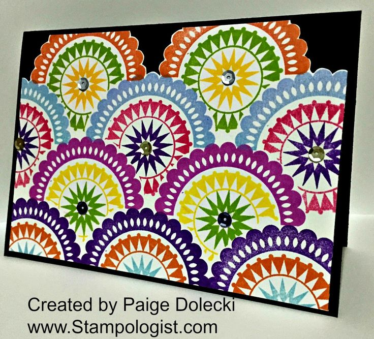 Paige Dolecki - Stampologist Using the February 2015 SOTM Get yours today for just $5 - shop at www.Paige.CTMH.com