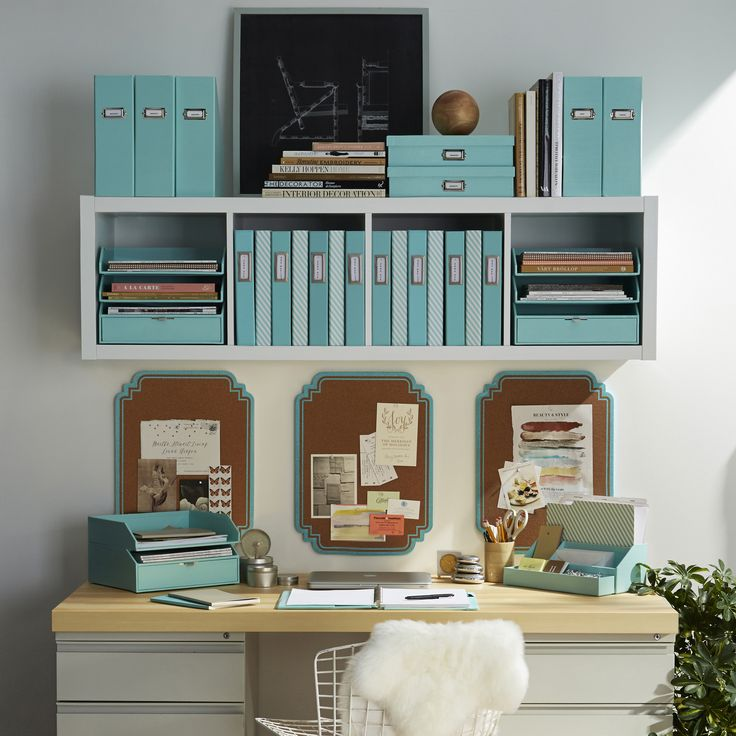 53 Best Images About Organizing Your Office On Pinterest Mini Office Home Organization Ideas