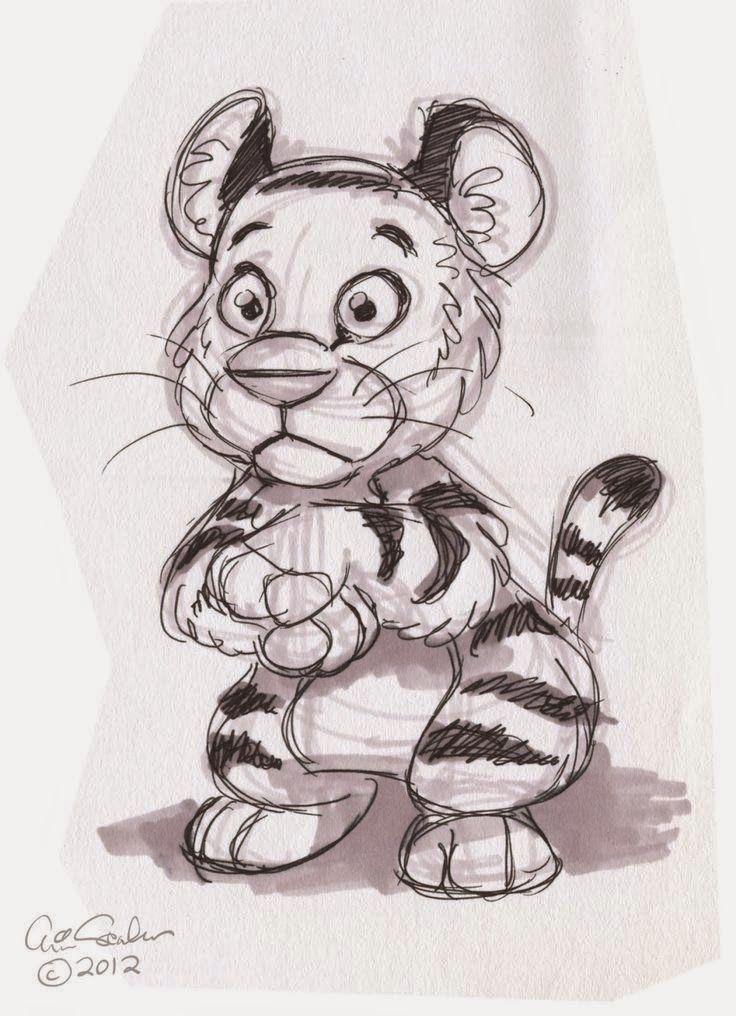 Прикольные рисунки зверей карандашом, хорошего дня