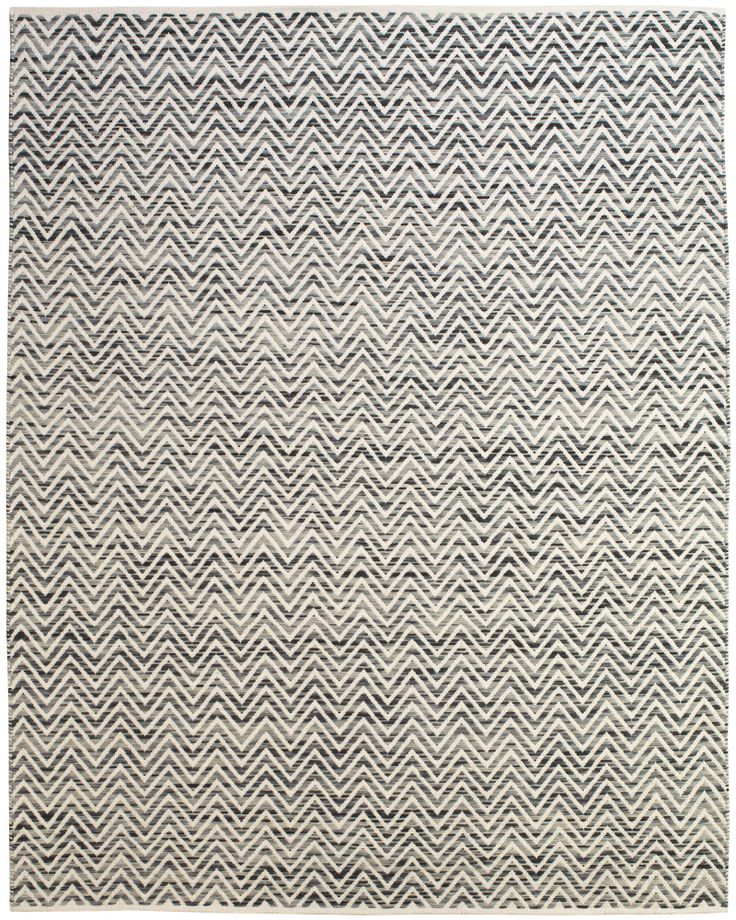 RugStudio Presents Feizy Mojave 0555f Dark Blue / Gray Flat Woven Area Rug