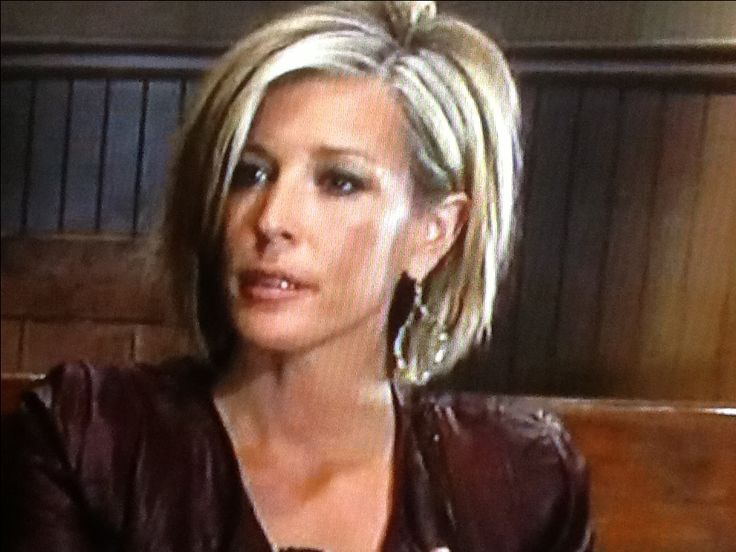 Carley's new haircut (Laura Wright- General Hospital) want this!