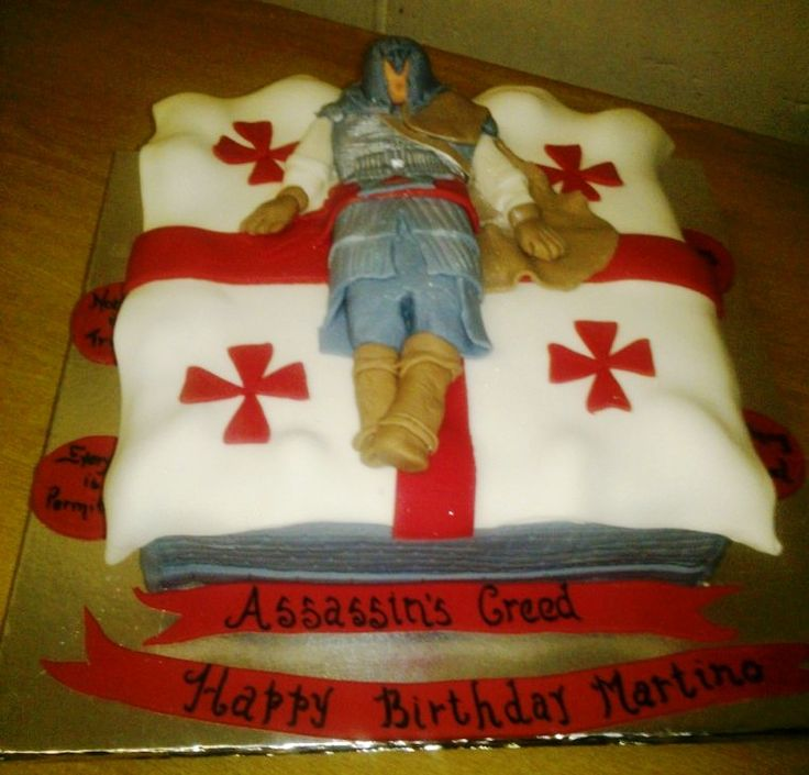 Cake Design Assassin S Creed : 1000+ images about Assassins creed cakes on Pinterest ...