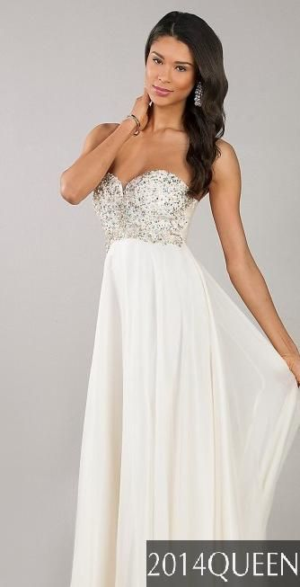 Prom Dresses White Fancy