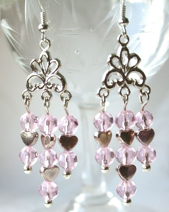 Pink earrings - SOLD
