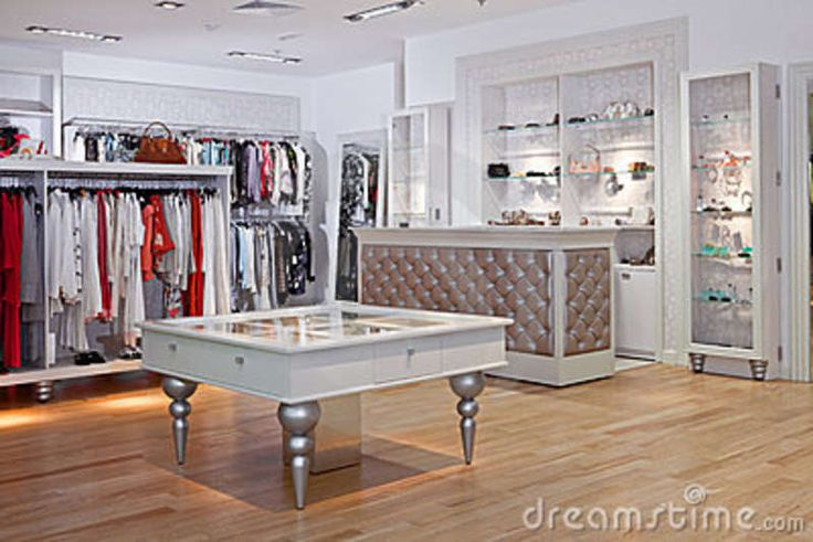 Clothing Store Interior Stock Photography - Image: 18001892