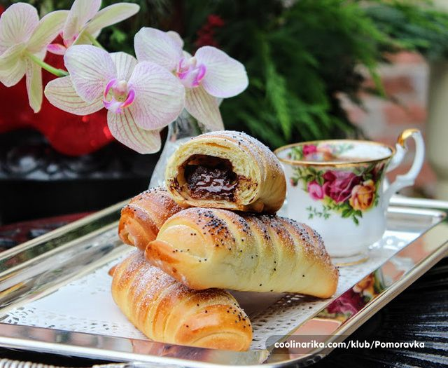 Brioche bun with chocolate - Vegeta