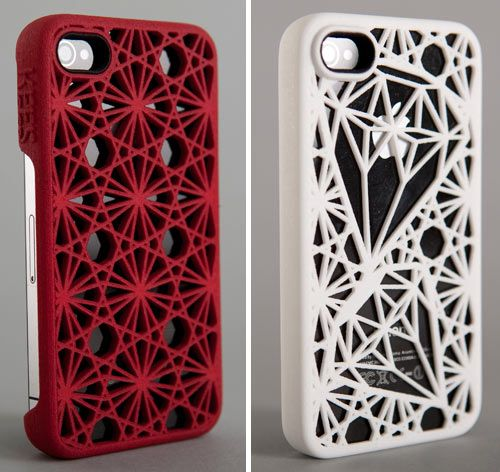 """Kees is a company based in The Netherlands that uses 3D printing technology to create sturdy plastic cases for your iPhone. What's even cooler about Kees (pronounced """"case"""" in The Netherlands) is that you can design your own case and they make it for you."""