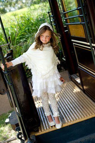 Tea Princess Daisy Cream Poncho – Sweet Thing Baby & Childrens Wear #Winter #Cloth #Girl sweetthing.com.au