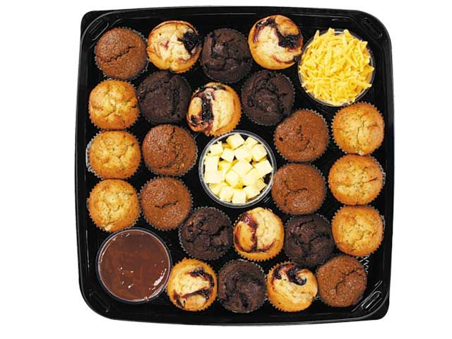 Checkers - Better and Better - Breakfast pastry platter (NEW MUFFIN PLATTER)