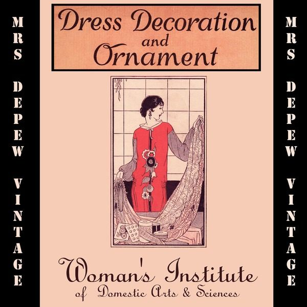 90 best e books for historical fashion sewing research images on vintage sewing book dress decoration and ornament ebook how to on cd fandeluxe Choice Image