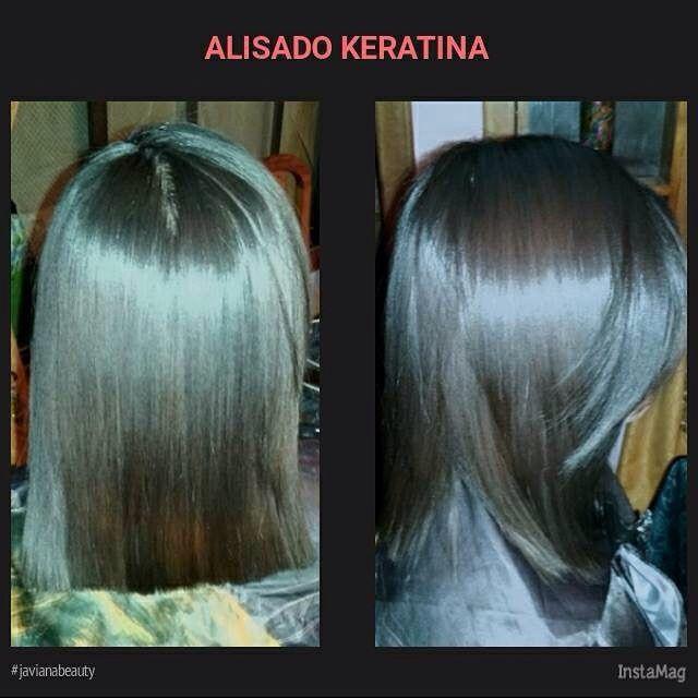 Alisado Keratina  más corte melena desigual #cabelloliso #cabellohermoso #cabellos #hairinspiration #hairstyle #hairstrength #javianabeauty.