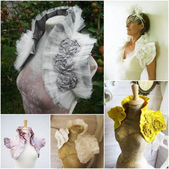 Свадебные болеро, накидки