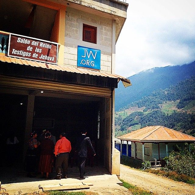 This is a Kingdom Hall in Todos-Santos, Huehuetenango, Guatemala. We were here in a Special Talk 12-04-15