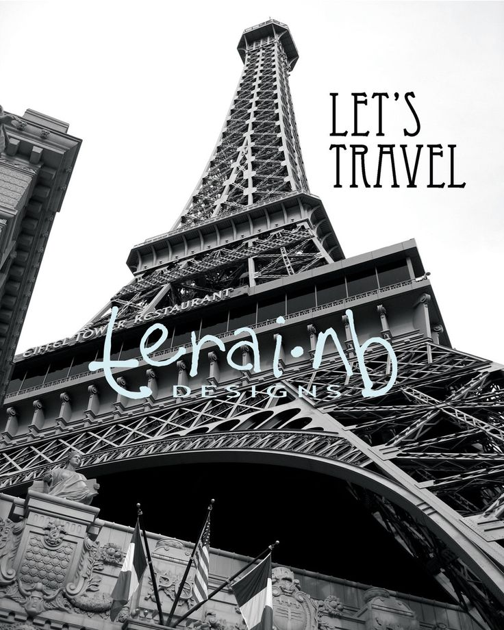 A personal favorite from my Etsy shop https://www.etsy.com/listing/215228757/eiffel-tower-restaurant-in-vegasblack