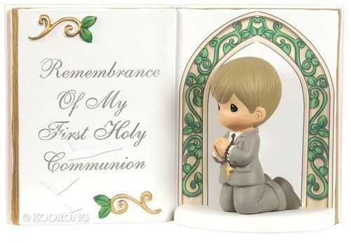 Buy Precious Moments Bible Figurine: Boy, Remembrance Of My First Holy Communion Online - Precious Moments Bible Figurine: Boy, Remembrance Of My First Holy Communion Homeware: ID 875555023008