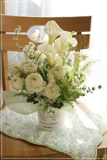 【今日の贈花】お悔みのお花と原風景|Flower note の 花日記 (横浜・上大岡 アレンジメント教室)