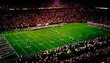Minnesota Vikings - Hubert H. Humphrey Metrodome - ''Metrodome'', ''Mall of America Field'', ''The Homerdome'', ''The Dome'' & ''The Thunderdome'' - Capacity: 55,883 - 1982 to 2013