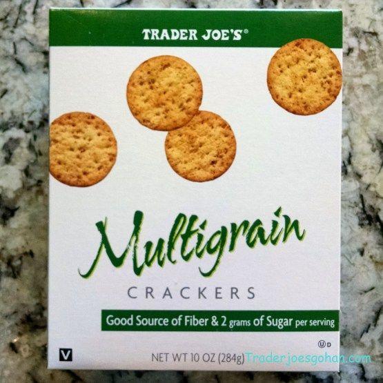 Trader Joe's Multigrain Crackers 10oz/284g $2.29 トレーダジョーズ マルチグレインクラッカー