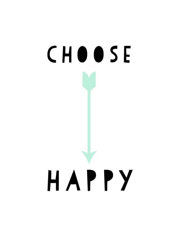 """Entscheidet Euch für's """"Glücklich sein"""" / Choose """"Happy""""    Bildquelle / Photo Credits: Threadblog.com"""