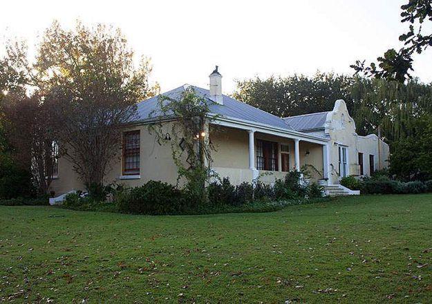 Klein Moerbei Farm House in Stellenbosch.
