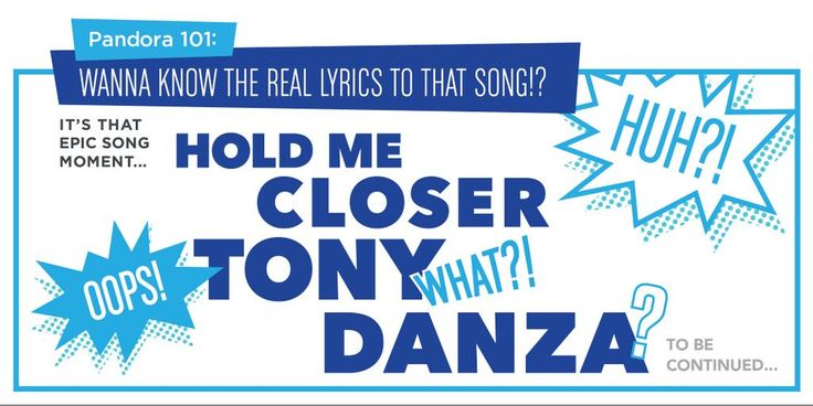 """Pandora can help you get the lyrics right. Learn how: http://pdora.co/p101lyrics Pandora 101 - Always know the right lyrics to that song. Whether you hear """"Tony Danza"""" or """"Tiny Dancer"""" they'll help you find the lyrics to your favorite music."""