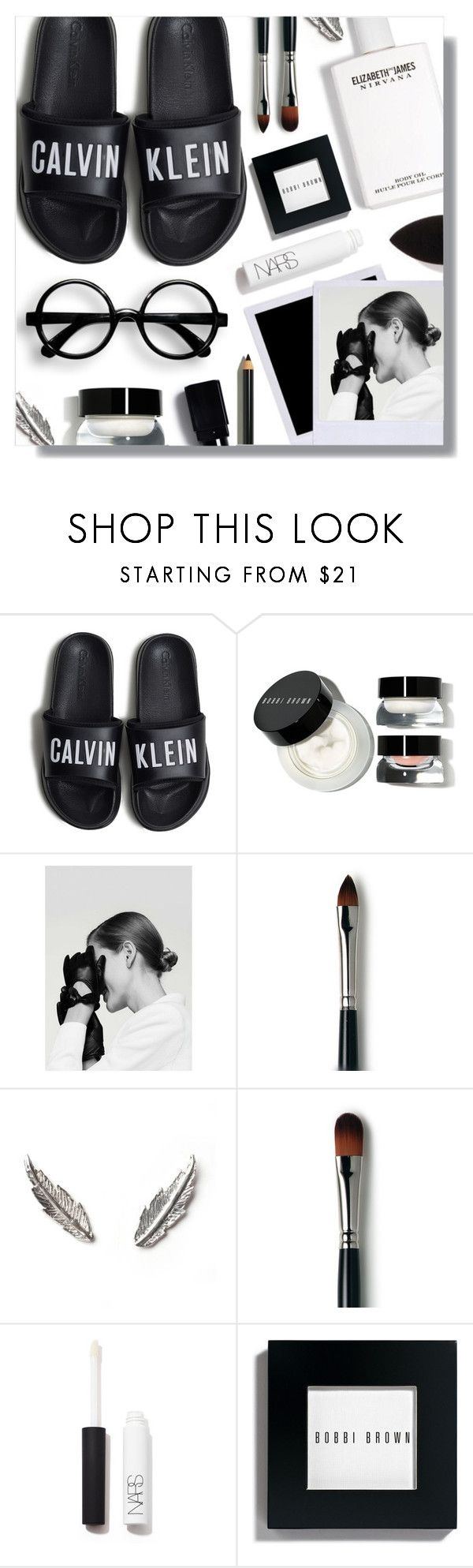 """""""Get ready for 2018"""" by peony-and-python ❤ liked on Polyvore featuring beauty, Calvin Klein, Bobbi Brown Cosmetics, MANGO, Laura Mercier, LeiVanKash, NARS Cosmetics, beautyblender, allblack and newyear"""