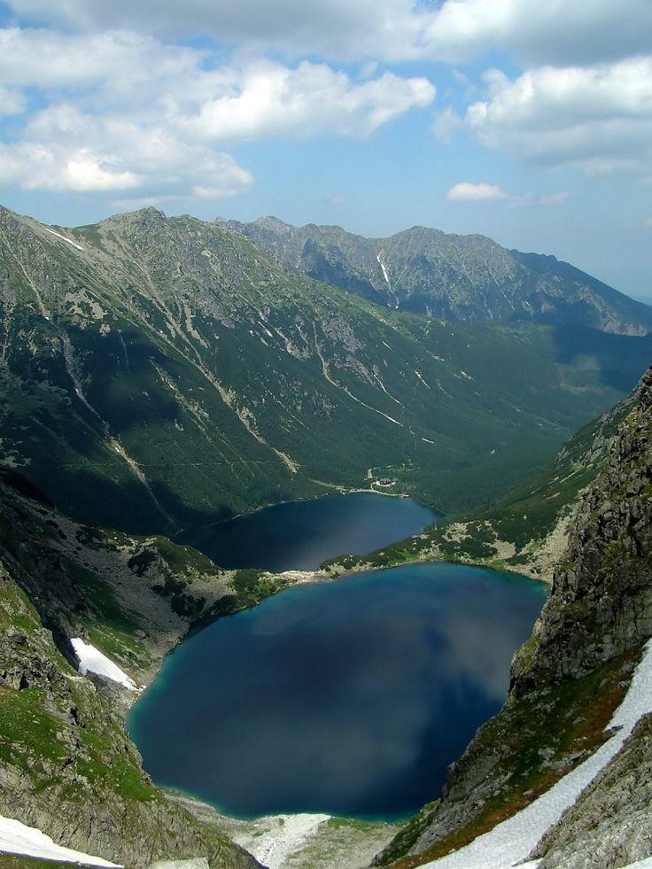 Morskie Oko (The eye of the Sea), Tatra Mountains, Zakopane #Poland