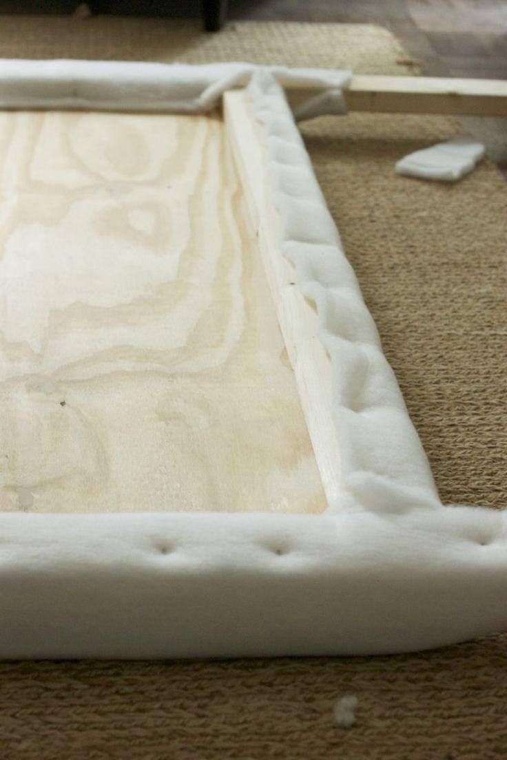 pasos para forrar un cabecero de espuma