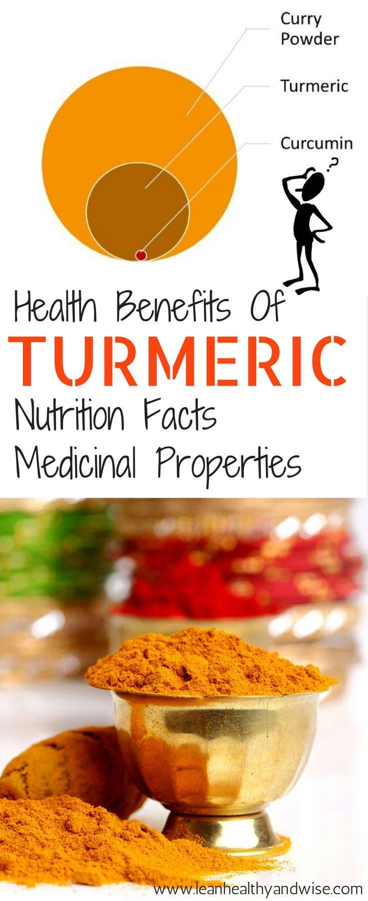 Discover the amazing health benefits or turmeric. Curcumin supplement can be an effective option to be healthy and pain-free. Read and share via /leanhealthywise/