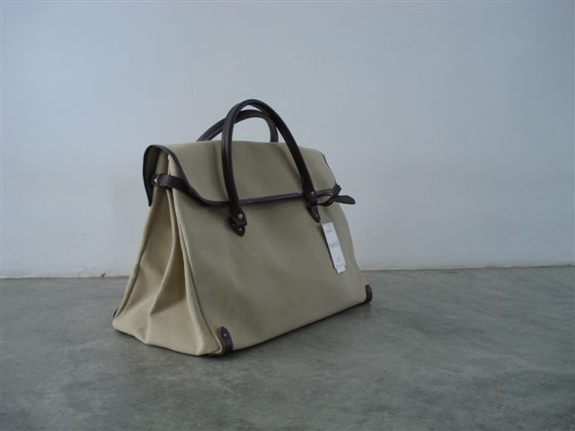 "Sac ""Tampico"" made in France refª XXL Manathan   100% cotton, real leather handles  124,00 euros"