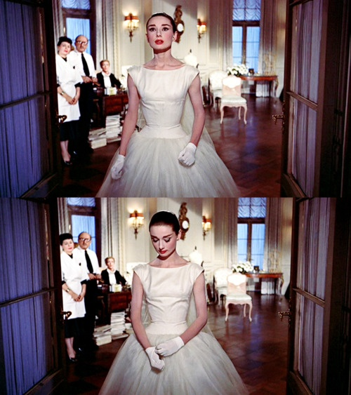 Audrey Hepburn. Love this movie