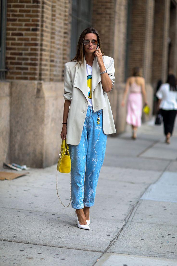 41 Formas De Usar Tus Blue Jeans Aprobadas Por El Street Style