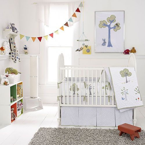 Semi-colorful nursery