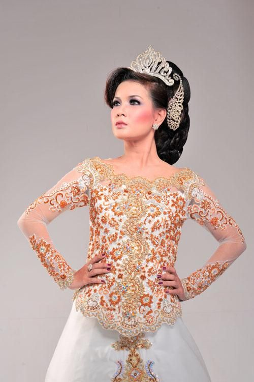 Model Kebaya Gaun Modern Terbaru