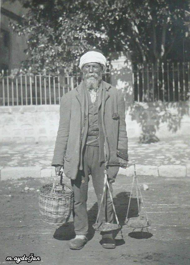 Sokak Satıcısı Ankara, 1900