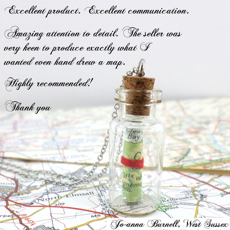 feedback friday for six0six design Excellent product. Excellent communication thank you note from a customer map pendant