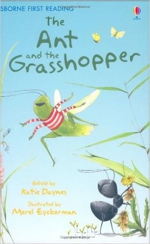 The Ant and the Grasshopper - Usborne First Reading • English Wooks