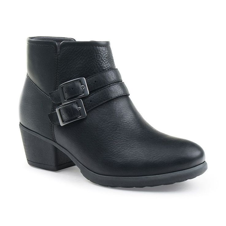 Eastland Stella Women's Leather Ankle Boots, Size: medium (8.5), Black