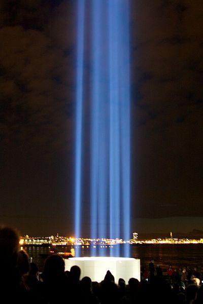 Imagine Peace Tower, Reykjavik. Column of Light for Potomac Lounge