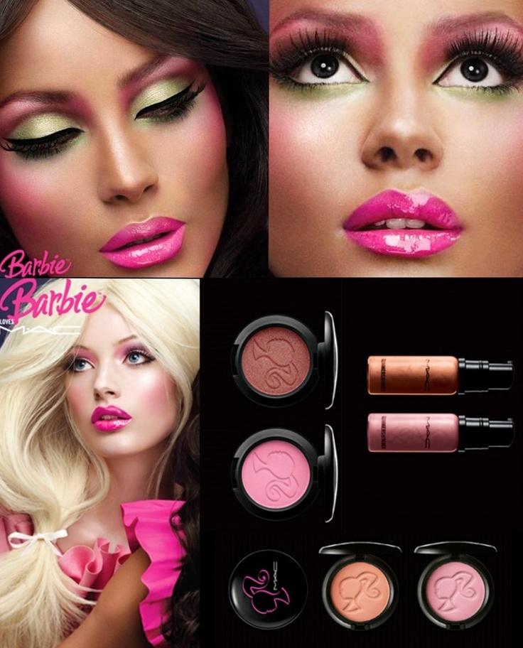 barbie makeup kiss amp make up pinterest barbie makeup