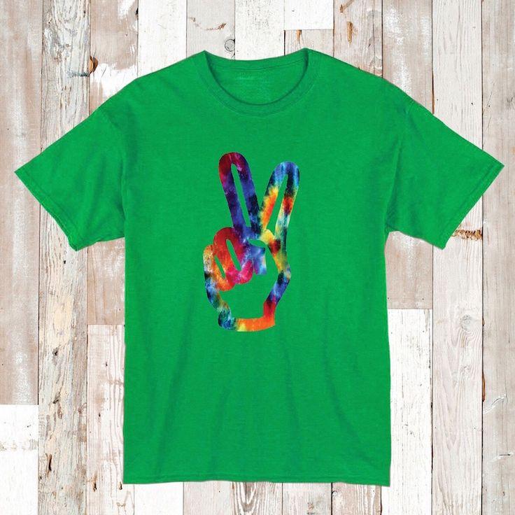 Tie Dye Hippie Tees and Onesies _ Hippie T-Shirts _ Tie Dye Clothes _ Custom Tie Dye Shirts _  Tie Dye Onesies _ Kids Tees _ Prime Decals