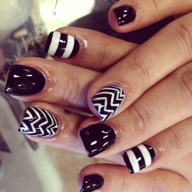new short nail designs 2015 - Google Search