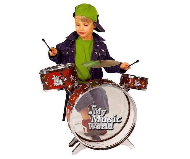 Çocuğunuzun müzik yapması için harika bir bateri seti minikleri bekliyor. Demonte şekilde özel kutusunda gelir. Kolayca kurulur.