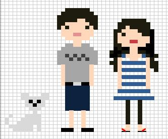 The 25 Best Ideas About Cross Stitch Family On Pinterest Stitch People