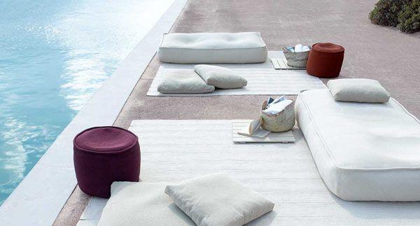 Pouf Float - design Francesco Rota - Paola Lenti