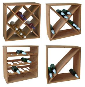 Weinregal Stapelbar Wein Regal Holz Massiv Weinflaschen Regalsystem Stand Ebay Regal Holz Weinregal Weinregal Holz