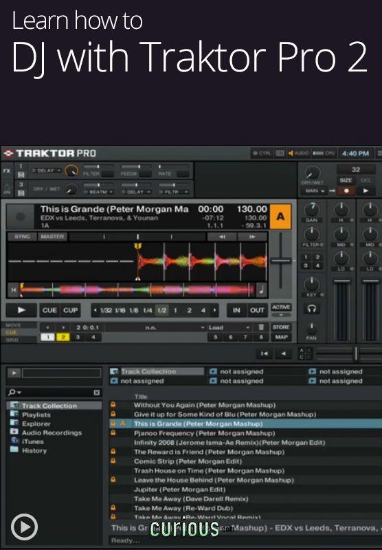 Learn to DJ with Traktor Pro 2