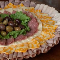 diy meat and cheese tray - Google Search