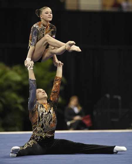 141 Best Images About Acrobatic Gymnastics On Pinterest